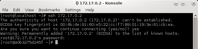 SSH success
