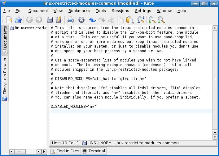 Linux commands - linux-restricted