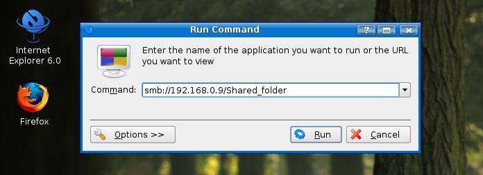 Linux commands - samba sharing 2