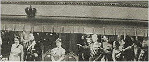 Hitlergroet bij Juliana foto MokumTV