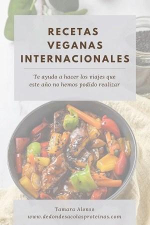 Recetas veganas internacionales