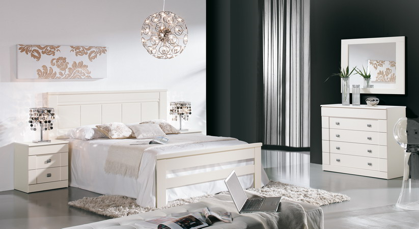 Dormitorios En Color Blanco Dormitorios Decoracin De