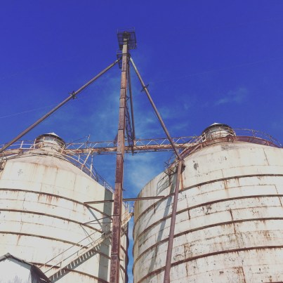 Silos at Magnolia Market in Waco
