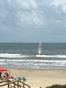 beach sail
