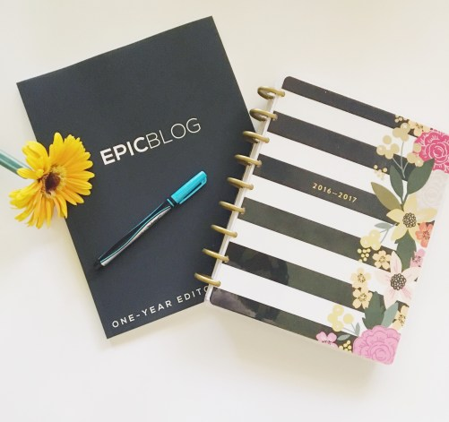 Buy the EpicBlog planner below