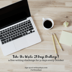 thirty-one day challenge
