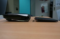 EZGO-Slim-Wallet-review-thickness-comparison-with-braun-buffel