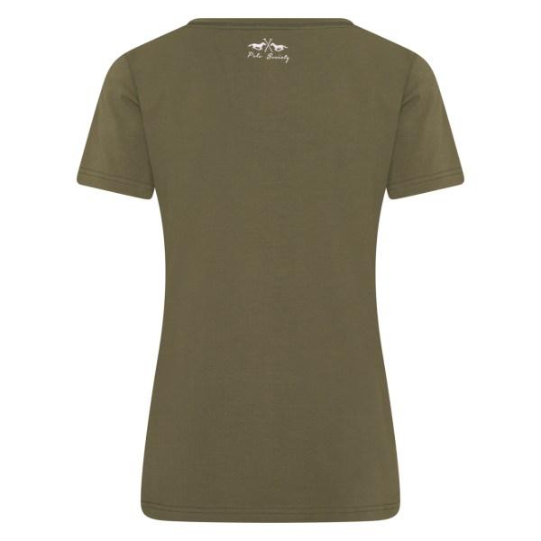 T-shirt Isabel Zebra – HV SOCIETY – Groen HV SOCIETY T-shirt