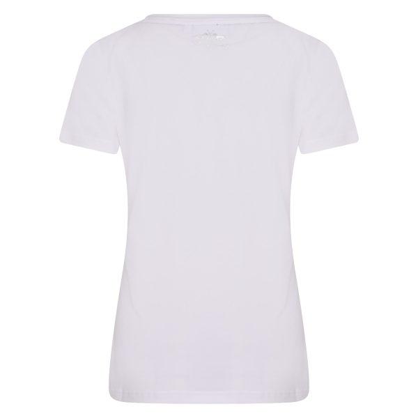 T-shirt Isabel Zebra – HV SOCIETY – Wit HV SOCIETY T-shirt