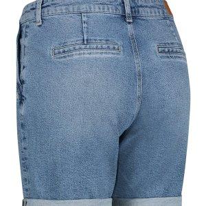 Mona Organic Jeans Bermuda - Studio Anneloes - Blauw