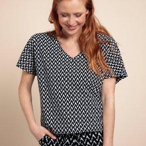 Made Small Zig Zag Shirt – Studio Anneloes – Black Nieuw Shirt