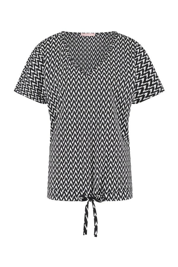 Made Small Zig Zag Shirt - Studio Anneloes - Black