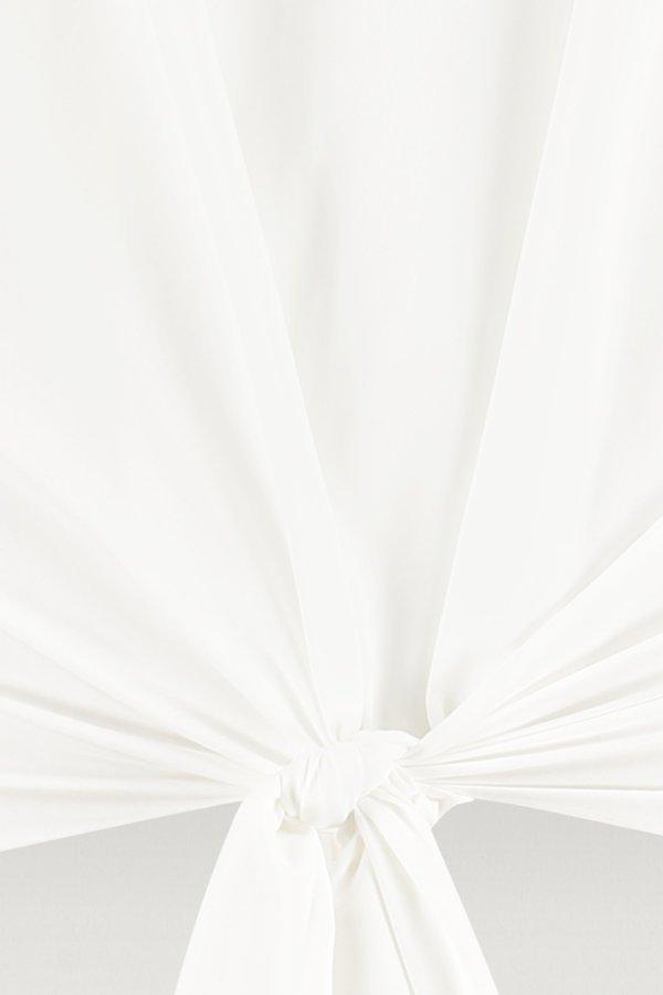 Rosanne SL Knot Blouse - Studio Anneloes - Off White