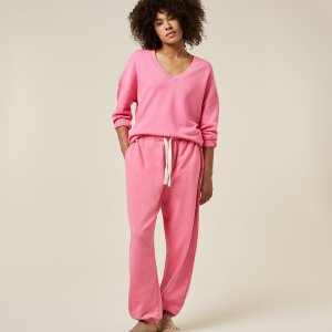 Oversized Jogger Liberty – 10DAYS – Candy Pink Sale 10DAYS Broek