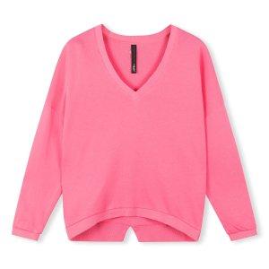 V-Neck Sweater - 10DAYS - Candy Pink