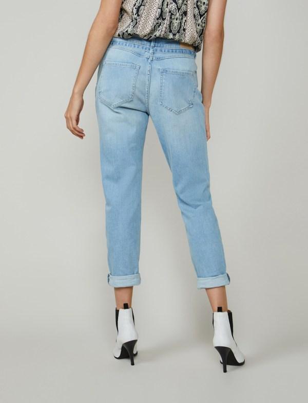 Bleached Jeans - Summum - Blauw