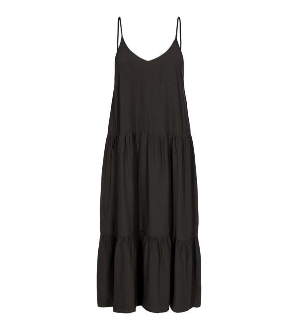 New Gipsy Strap Dress - Co'Couture - Zwart