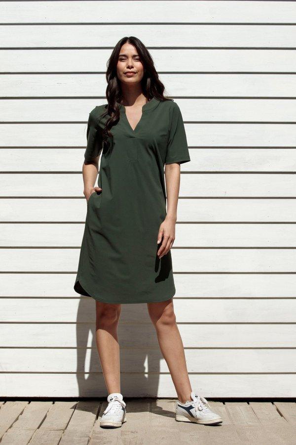 Stella Dress - Studio Anneloes - Green