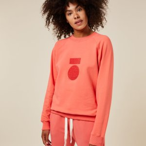 Sweater Terry – 10DAYS – Coral 10Days Sweater