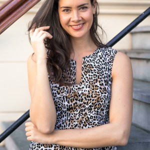 Caro Sls Leopard Dress - Studio Anneloes - Camel