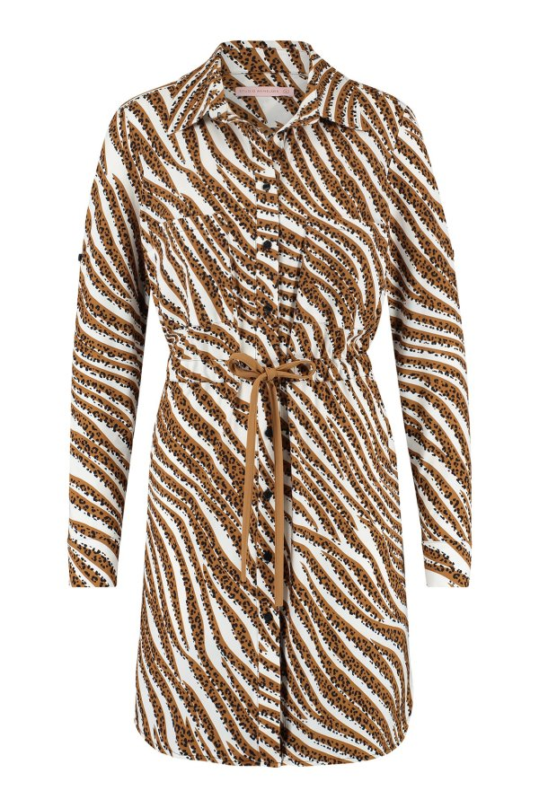 Woopsy Tiger Tunic - Studio Anneloes - Off White Caramel