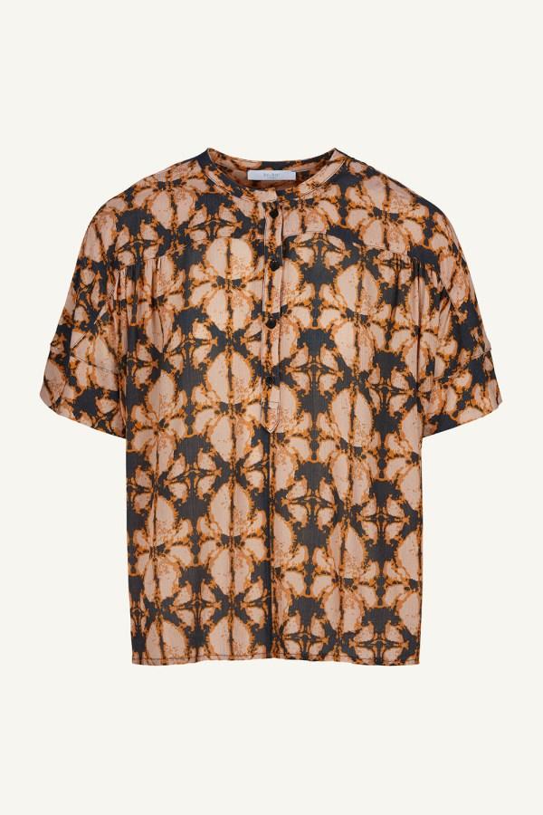 Bo Batik Blouse - BY-BAR - Oranje