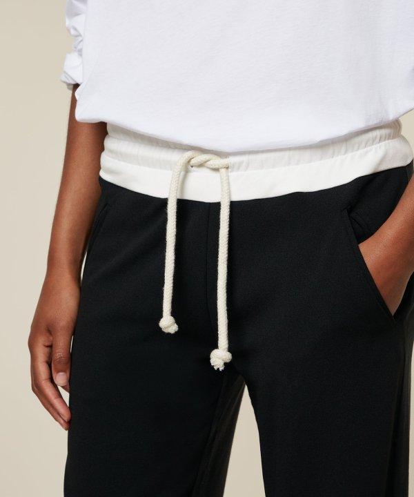 Wide Pants - 10DAYS - Zwart