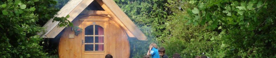 Houten tent