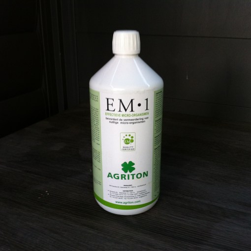 goede bacteriën, EM, effectieve micro-organismen, EM in de tuin, zelf EM maken