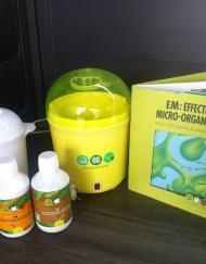 Effectieve Micro-organismen, EM, EM1, EM A+, rietsuikermelasse, fermenteren, zelf EM maken EM Activator