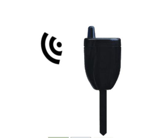 Sensor voor draadloze grondvochtmeter