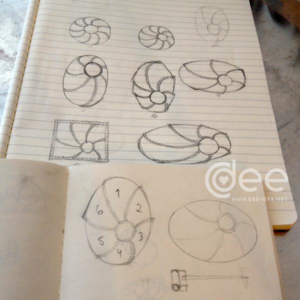 estudos para o projecto