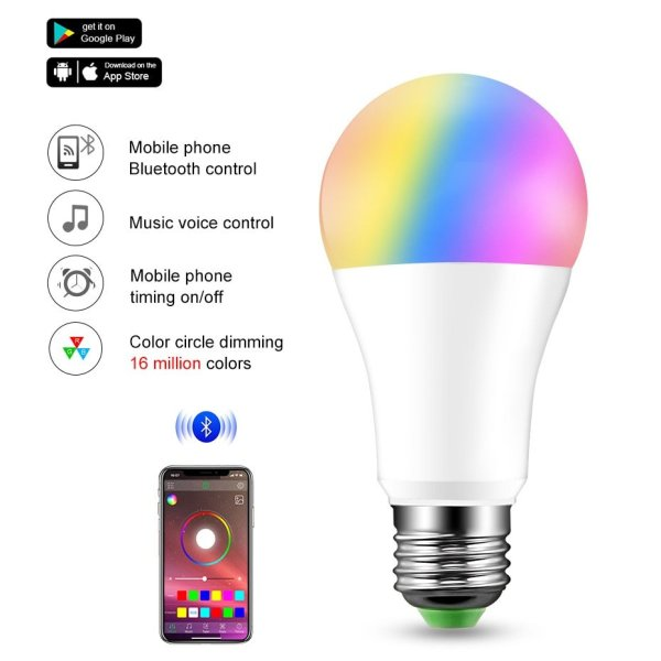 Modes Dimmable Bulb Colour Deecomtech Store