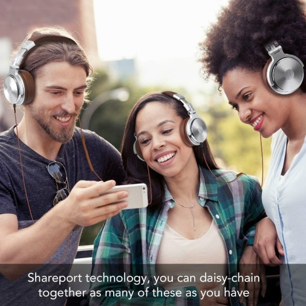 Headphones Multiple Listening Shareport Deecomtech