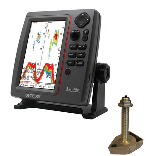 Svs 760 Fishfinder Dual Frequency Deecomtech