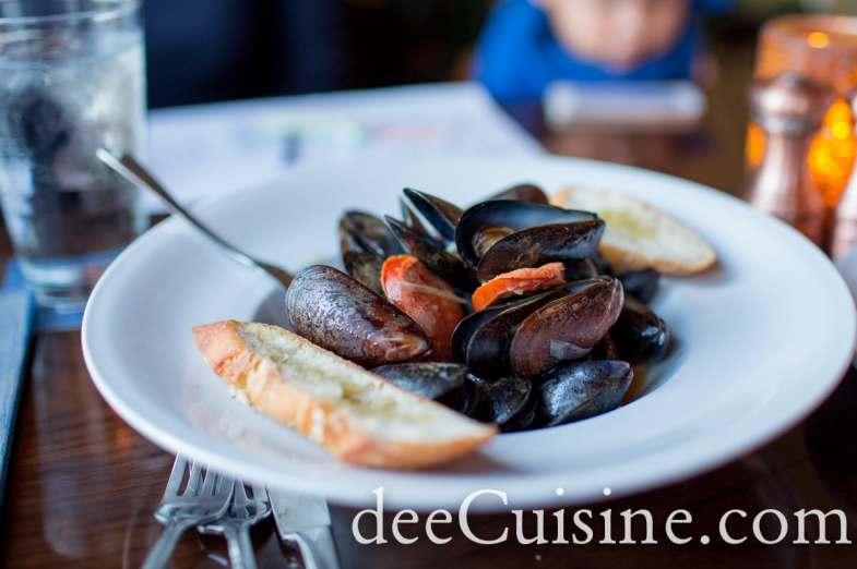 Mussels a la Portuguese