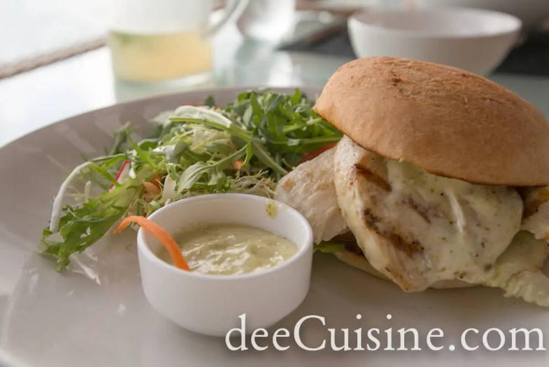 Grilled Wahoo Sandwich at 1609 Restaurant