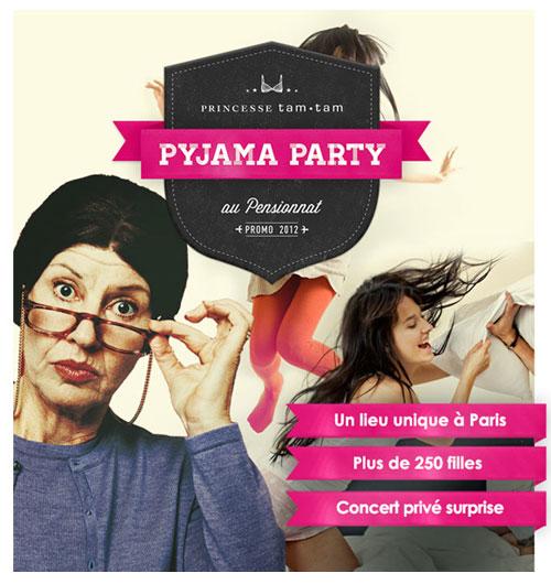 pyjama party deedee