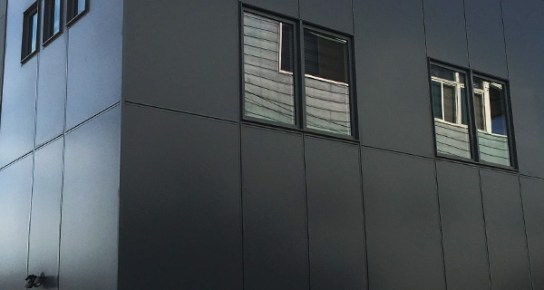 Union County Commercial Panel Siding