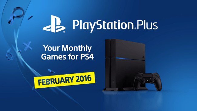 Playstation Plus fevrier 2016