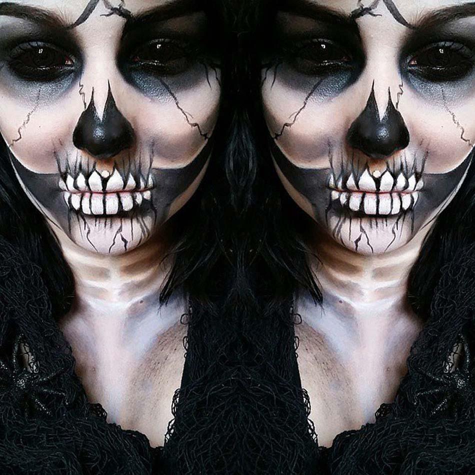 se-maquiller-femme-idee-maquillage-macabre-halloween