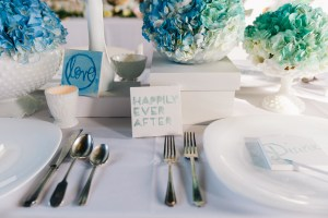 Artistic Boho Wedding I New Jersey Wedding Planner I Jersey Shore Wedding Planning I Ombre Blue Florals