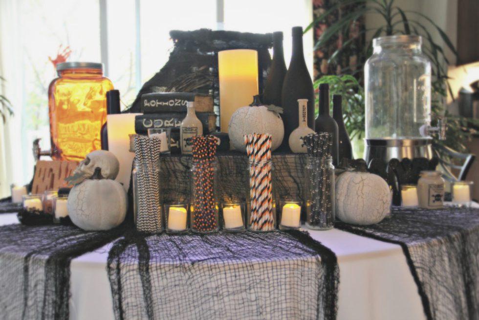 Dee Kay Events | Spooktacular Dessert Table Halloween Bar I Spooky Dessert Bar