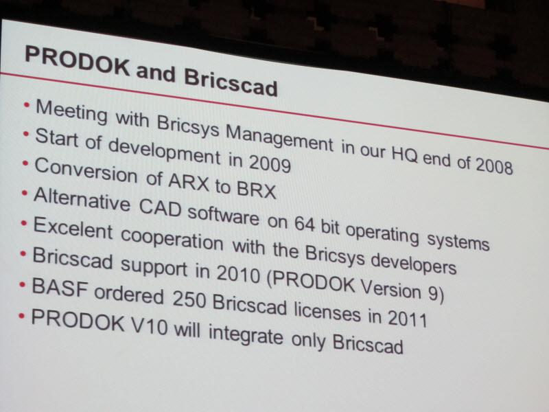 Bricsys International Conference 2012 – Day 1 – Deelip com