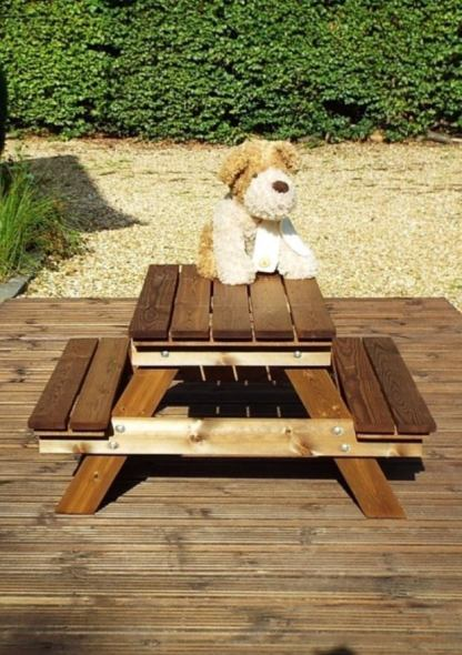 Kiddies picnic table