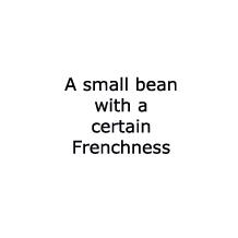 Beans - Dwarf French 'Aguillon'