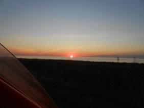 Rød morgensol Kattegat