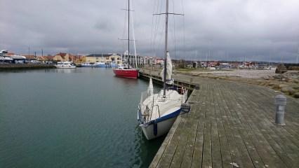 Maxi 77 Hvile ved Sæby Havn