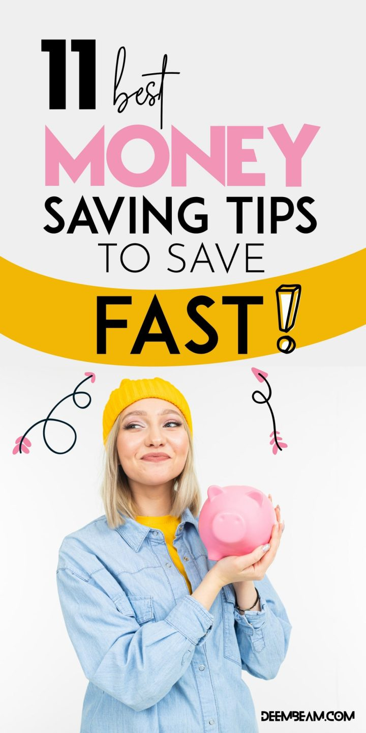 tips to save money fast
