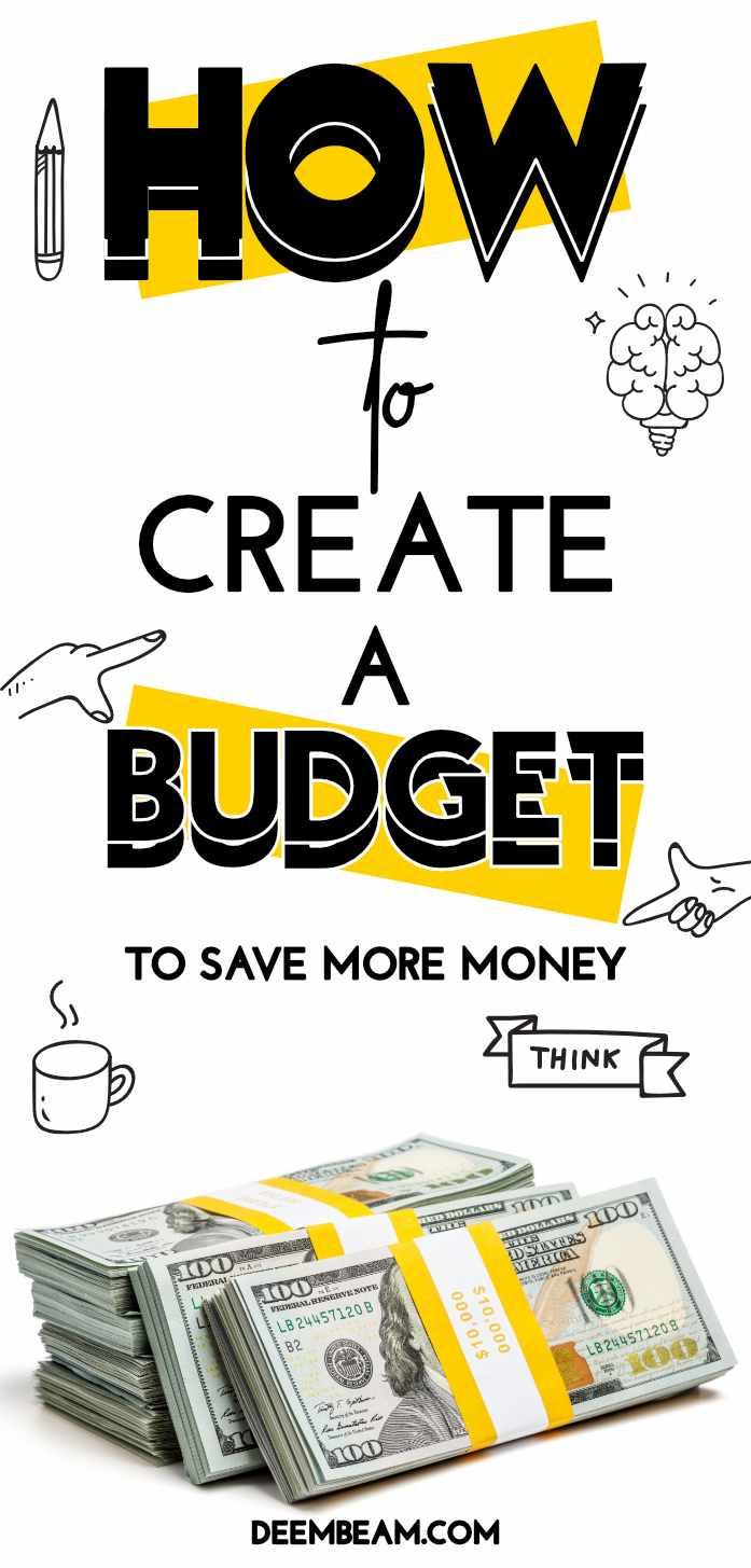 how to create budget